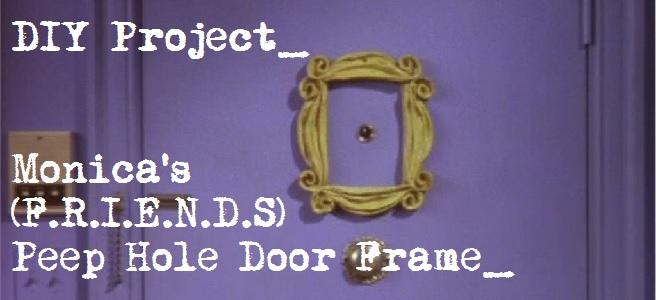 DIY Project: Monica\'s Peep Hole Frame – DIARY OF A PMP MOM