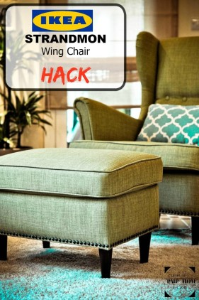 Ikea Wing Chair Hack Diary Of A Pmp Mom
