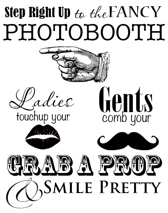 picture regarding Free Printable Photo Booth Sign named The Desi Wedding ceremony Image Booth DIARY OF A PMP Mother