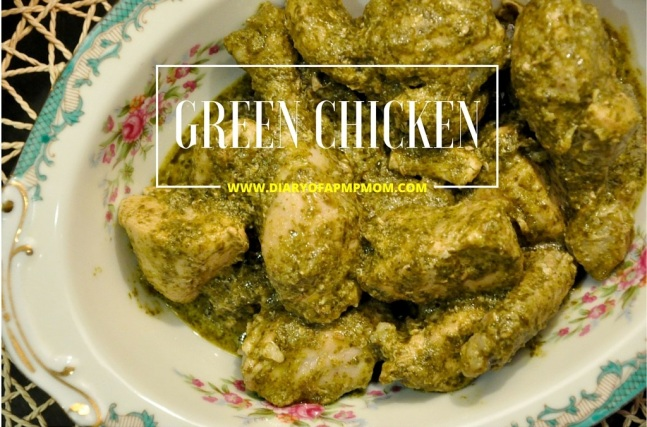green chicken