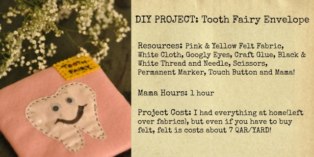 DIY Tooth Fairy Envelope