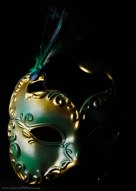 Masquerade! Every face a different shade . .