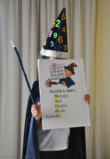 5 Maths Day Costume Ideas – DIARY OF A PMP MOM