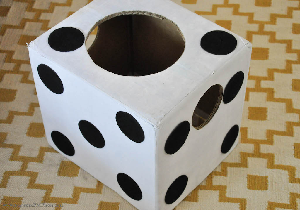 Dice Costume & 5 Maths Day Costume Ideas u2013 DIARY OF A PMP MOM