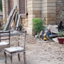 The abandoned furniture - Free Masons Lodge
