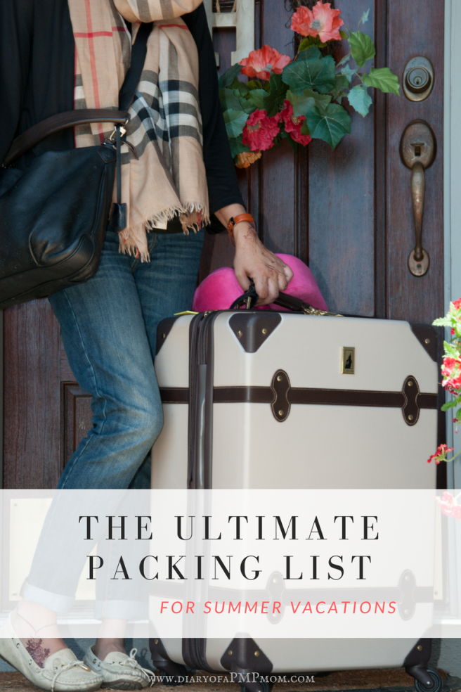 The ULTIMATE PACKING LIST FOR SUMMER-3