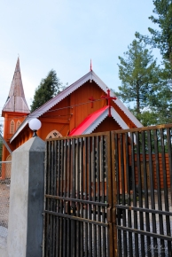 A church in Nathiagali