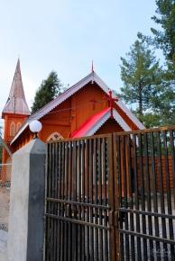 A church in Nathiagali