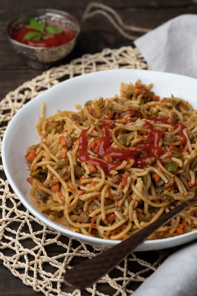 Qeema Spaghetti-8693