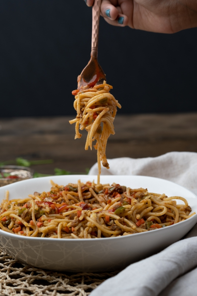 Qeema Spaghetti-8717